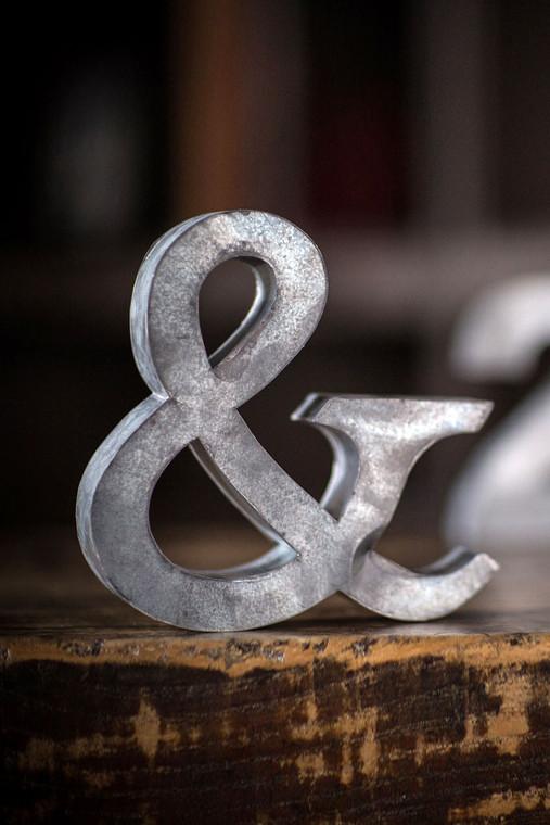 Small Zinc Ampersand