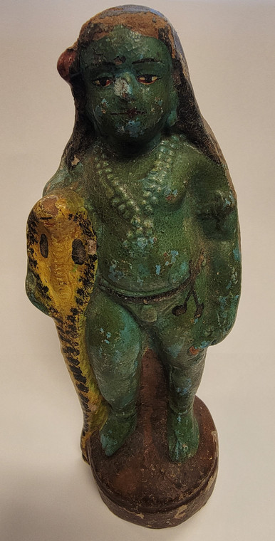 Vintage Handmade Terracotta Statue from India 5