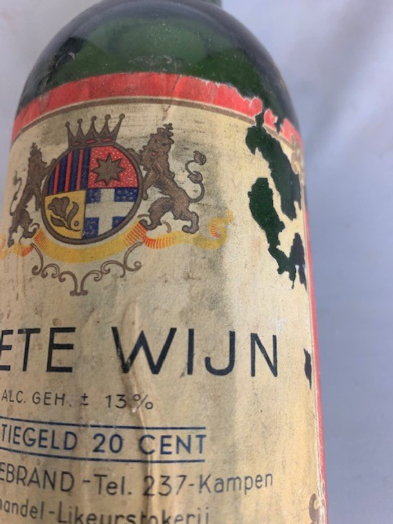 VINTAGE SWEET WINE BOTTLE