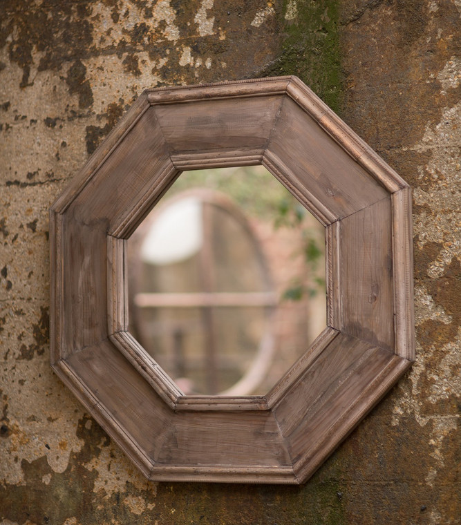 Large Octagonal Wall Mirror