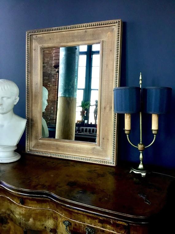 Solid Linden Wood Mirror