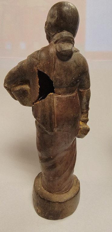 Vintage Handmade Terracotta Statue from India 7