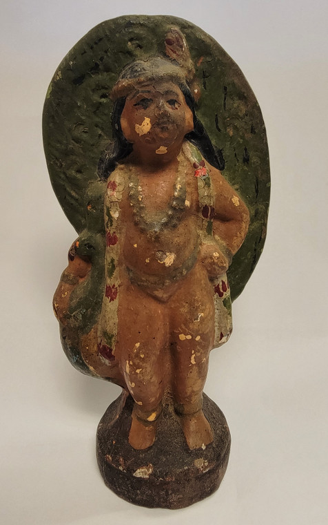 Vintage Handmade Terracotta Statue from India 14