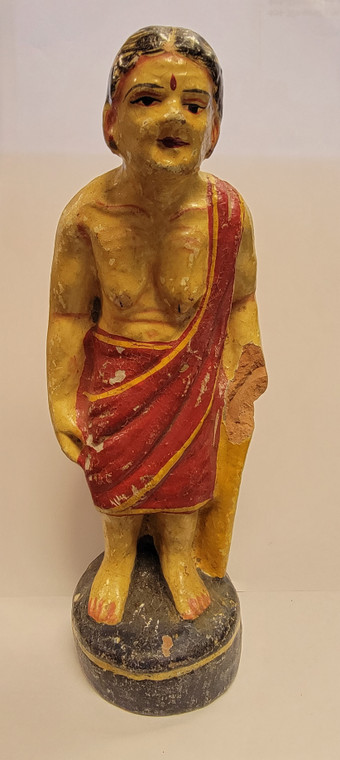 Vintage Handmade Terracotta Statue from India 1