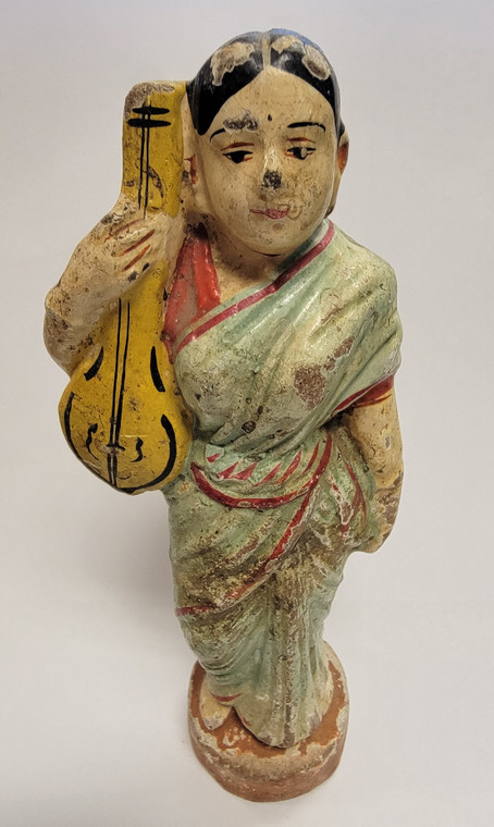 Vintage Handmade Terracotta Statue from India 21