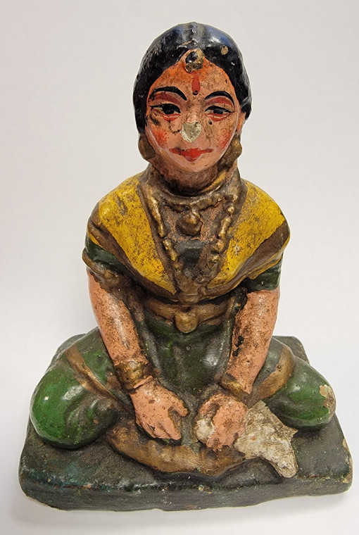 Vintage Handmade Terracotta Statue from India 24