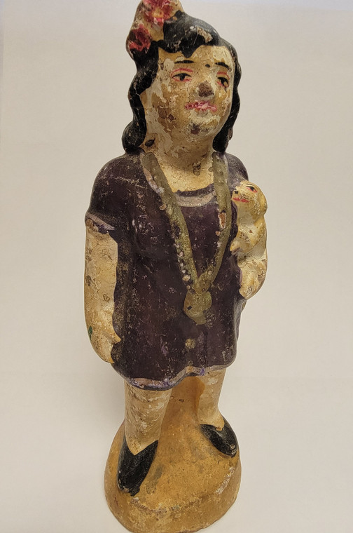Vintage Handmade Terracotta Statue from India 25