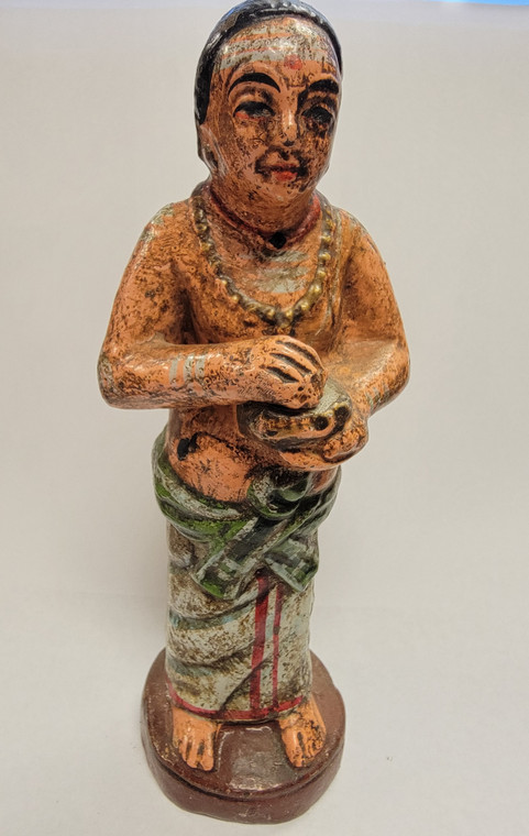 Vintage Handmade Terracotta Statue from India 27
