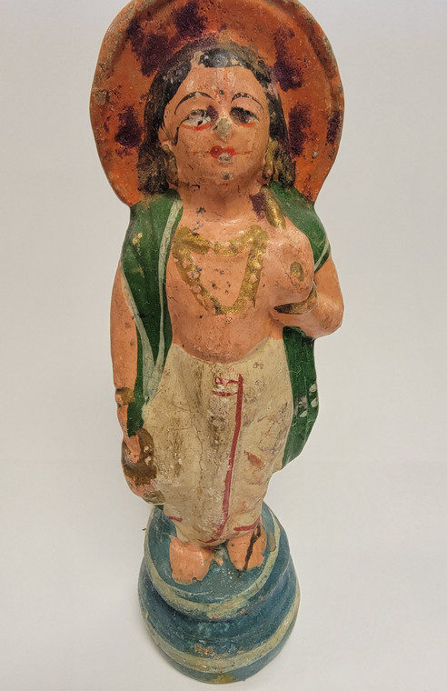 Vintage Handmade Terracotta Statue from India 28