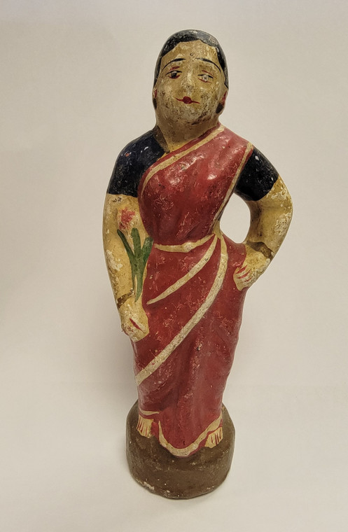 Vintage Handmade Terracotta Statue from India 29