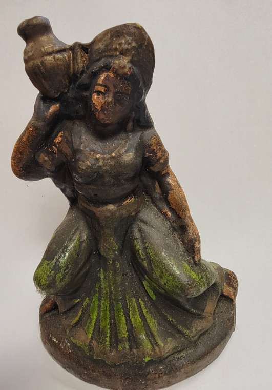 Vintage Handmade Terracotta Statue from India 30
