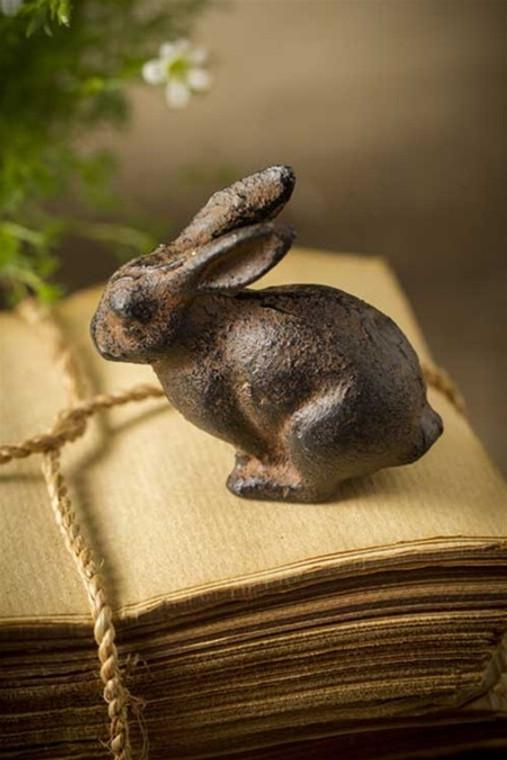 Cast Iron Bunny Rabbit