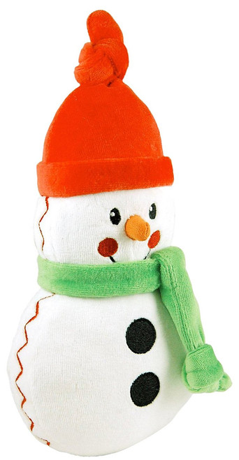 "Organic Snowman Plush - 9.5"" Soft Teether"