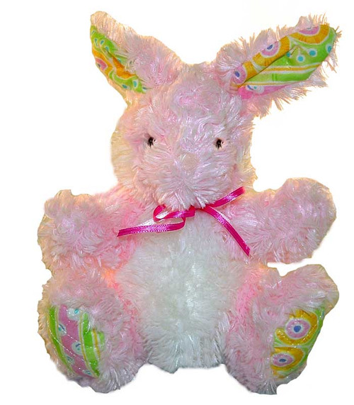 Rose Blossom Bunny - 9'' Rabbit By Douglas Cuddle Toys