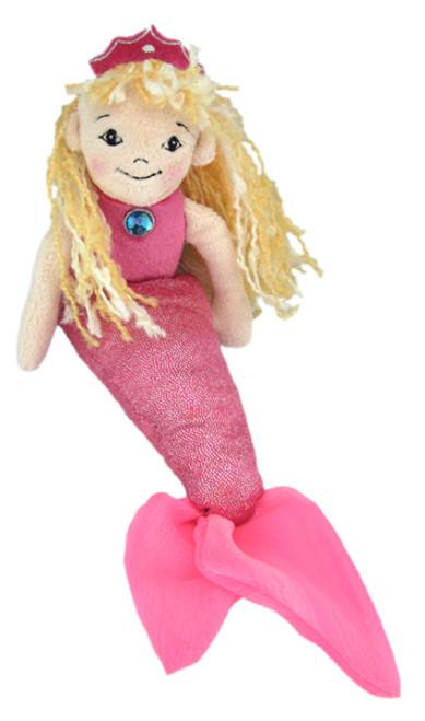 """Pink Mermaid - 10.5"""" Mermaid By Douglas Cuddle Toy"""