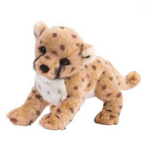 """Chillin' Cheetah Cub - 14"""" Cheetah By Douglas Cuddle Toys"""