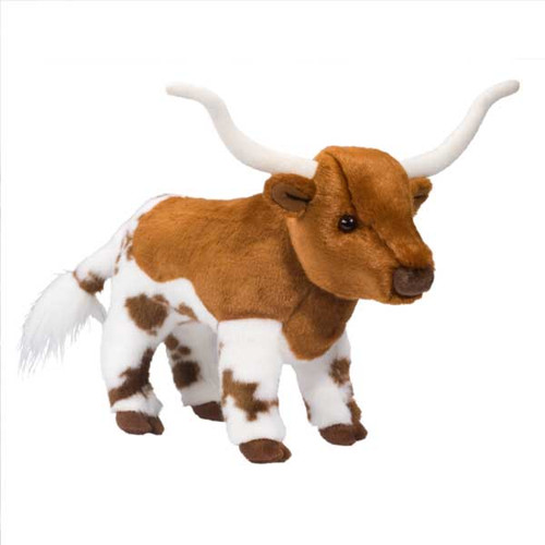 "Fitzgerald Longhorn - 11"" Steer By Douglas Cuddle Toy"