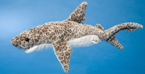 """Titus - 12"""" Tiger Shark By Douglas Cuddle Toy"""