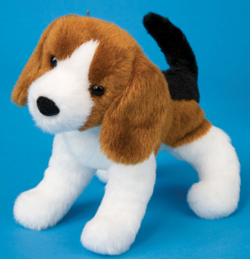 "Salsa Beagle - 8"" Dog By Douglas Cuddle Toy"