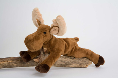 """Mable Moose - 9.5"""" Moose By Douglas Cuddle Toy"""