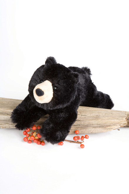 "Quimby Black Bear - 8"" Bear By Douglas Cuddle Toy"