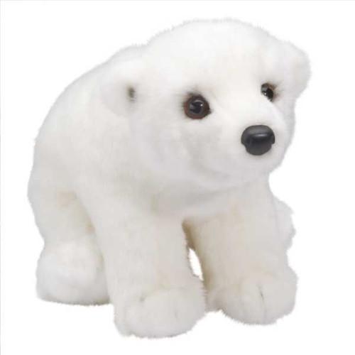 "Aput - 11"" Polar Bear By Douglas Cuddle Toy"