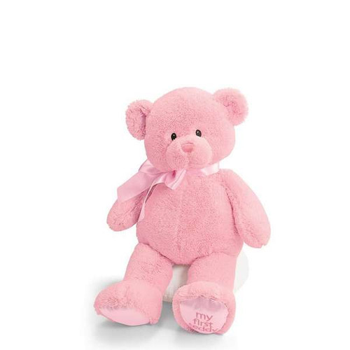 "My First Teddy (Pink) - 18"" Bear By Gund"