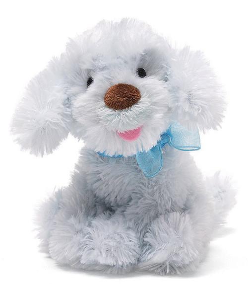 "Chic Blue Dog - 5"" Dog By Gund"
