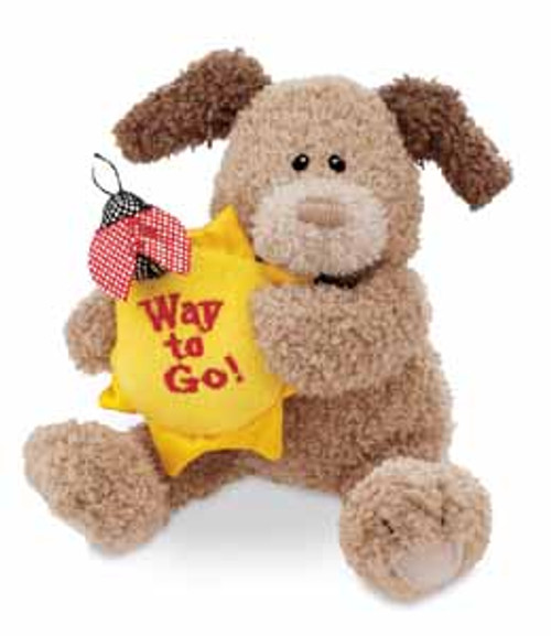 Way To Go - 4.5'' Dog by Gund