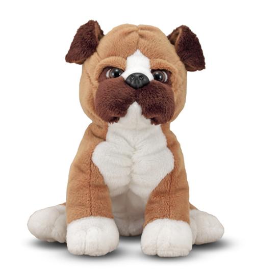 """Bentley Boxer - 10"""" Sitting Dog by Melissa & Doug"""