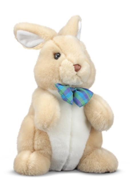 "Propper Bunny - 11"" Rabbit by Melissa & Doug"