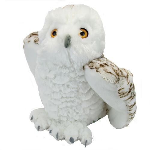 """Snowy Owl - 10.5"""" Cuddlekins Owl By Wild Republic"""