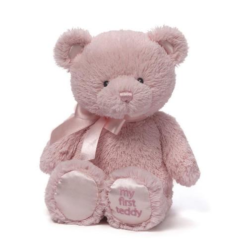 "My First Teddy (Pink) - 10"" Bear By Gund"