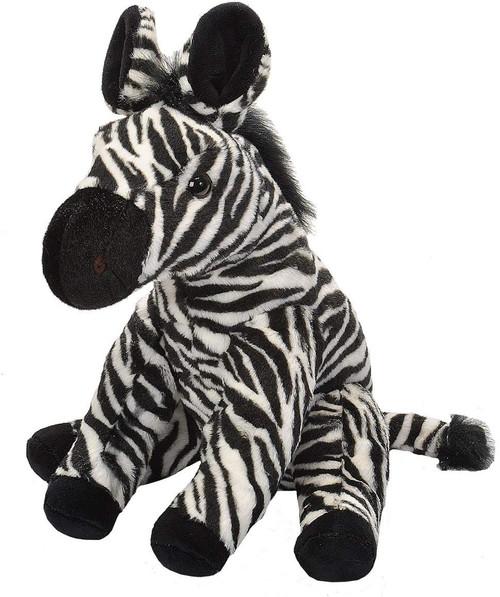 """Baby Zebra Cuddlekin - 12"""" Zebra By Wild Republic"""