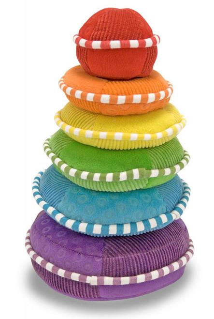 Rainbow Stacker - Plush