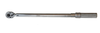 """ADJUSTABLE MANUAL TORQUE WRENCH 1/2"""" 60-340 NM (65378)"""