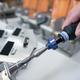 Ergo Quickset Adjustable Screwdriver in use