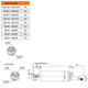 MM SMOOTH OUTPUT SHAFT AIR MOTOR DIMENSIONAL DRAWING