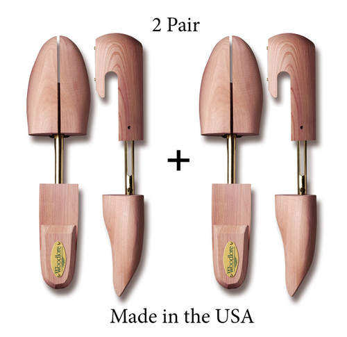 Men's Combination Shoe Trees, 2-pack