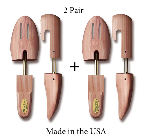 Men's Full Shoe Trees, 2-pack