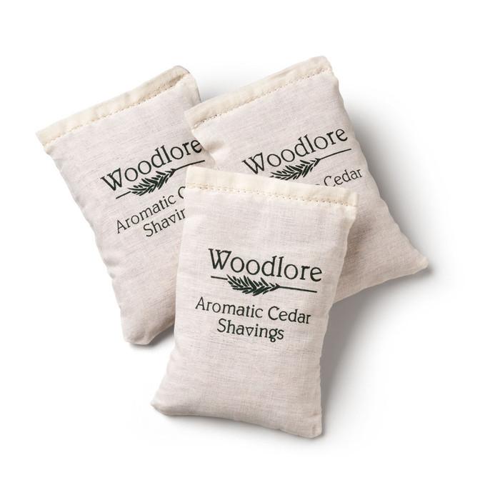 EcoFresh Premium Aromatic Cedar Sachets (3-pack)
