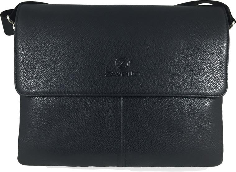 Men's Genuine Leather Briefcase Shoulder Messenger Bag 1