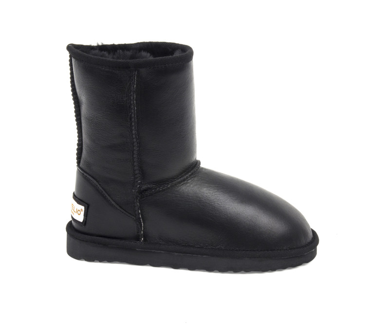 UGG Classic sheepskin boots Black Color