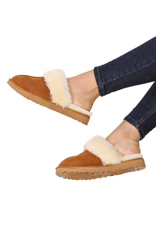 women's sheepskin slippers 5