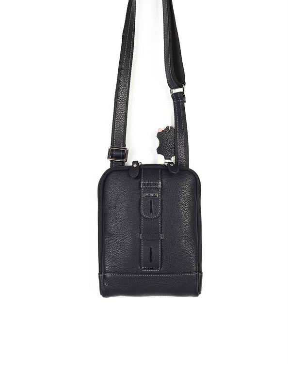 Unisex Genuine Leather Small Cross Body Shoulder Messenger Bag #346