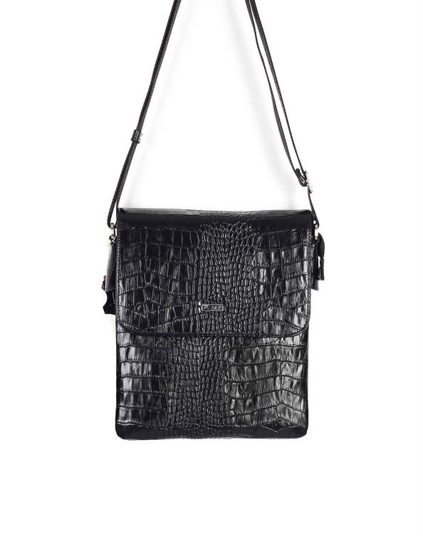 Unisex Genuine Leather Small Cross Body Shoulder Messenger Bag #360