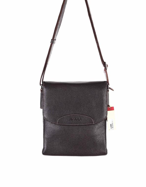 Unisex Genuine Leather Small Cross Body Shoulder Messenger Bag #373