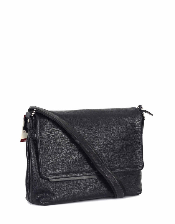 Unisex Genuine Leather Small Cross Body Shoulder Messenger Bag #312
