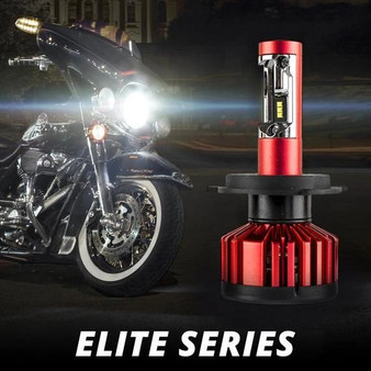 MOTORCYCLE ELITE SERIES LED HEADLIGHT CONVERSION KIT