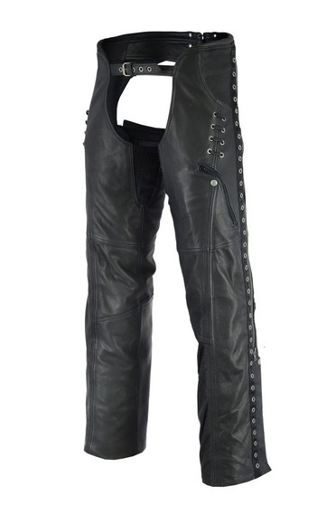DS485 Women's Stylish Lightweight Hip Set Chaps